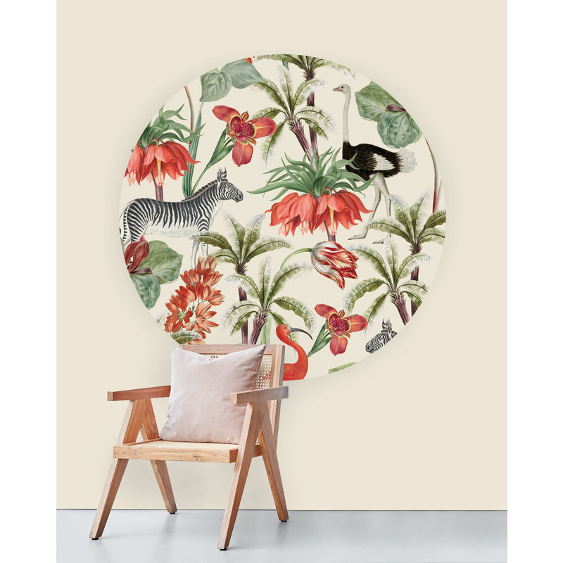 Creative Lab Amsterdam-collectie Wallpaper Circles A New Chapter