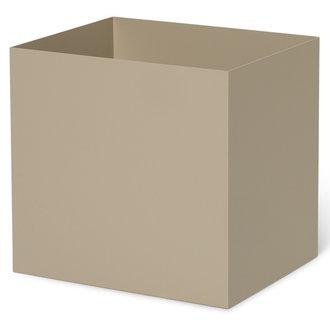 ferm LIVING Plant Box Pot Medium - Cashmere