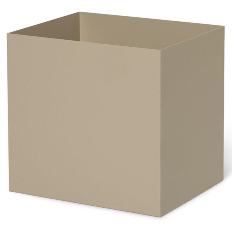 ferm LIVING-collectie Plant Box Pot medium cashmere