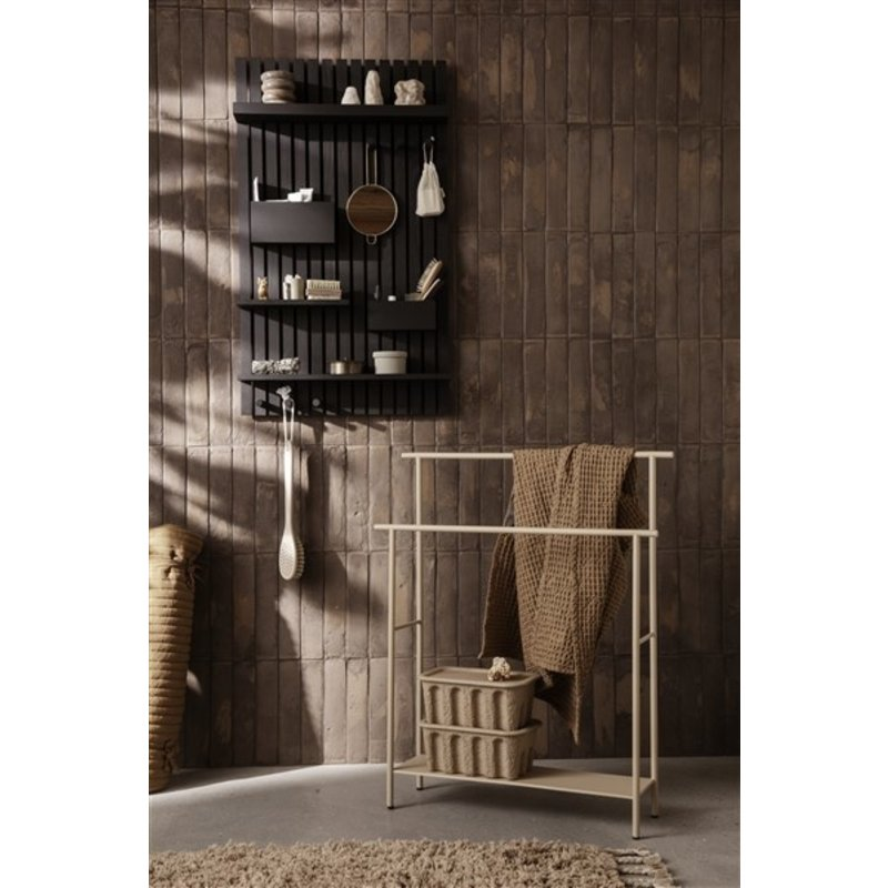 ferm LIVING-collectie Handdoekenrek Dora cashmere