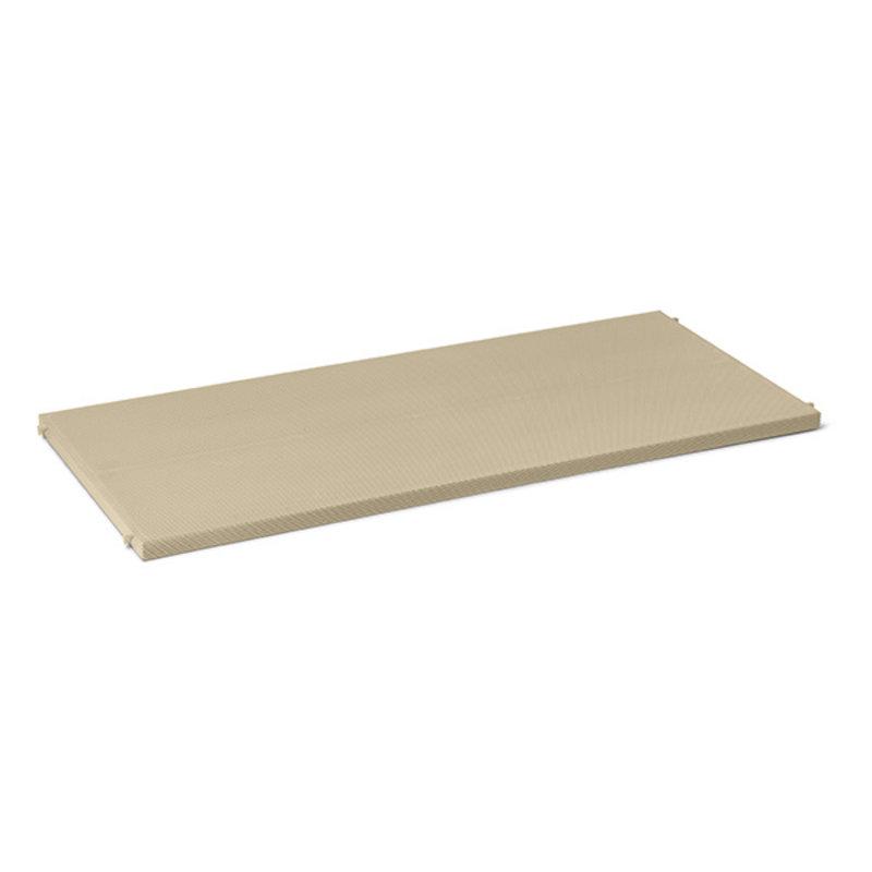 ferm LIVING-collectie Punctual shelving system metalen geperforeerde plank cashmere