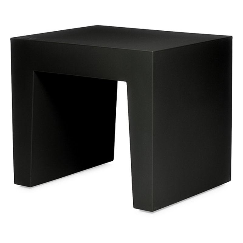 Fatboy-collectie Concrete seat krukje recycled zwart