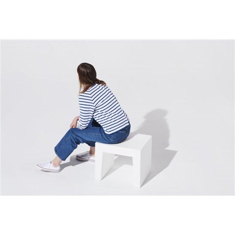 Fatboy-collectie Concrete seat krukje wit