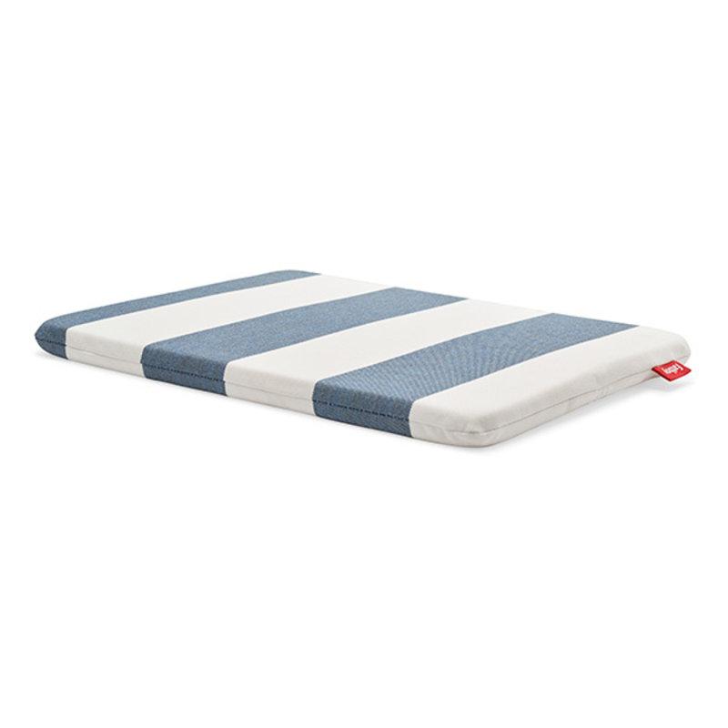 Fatboy-collectie Concrete seat zitkussen stripe ocean blue