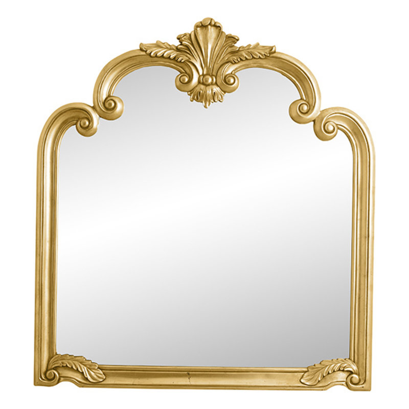 Nordal-collectie ANGEL wall mirror, gold