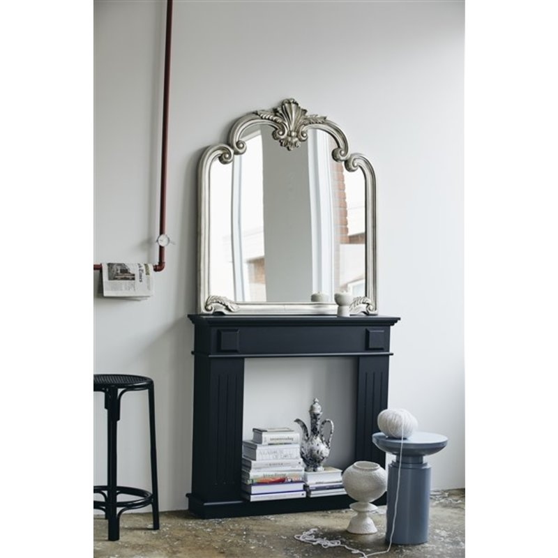 Nordal-collectie ANGEL wall mirror, silver