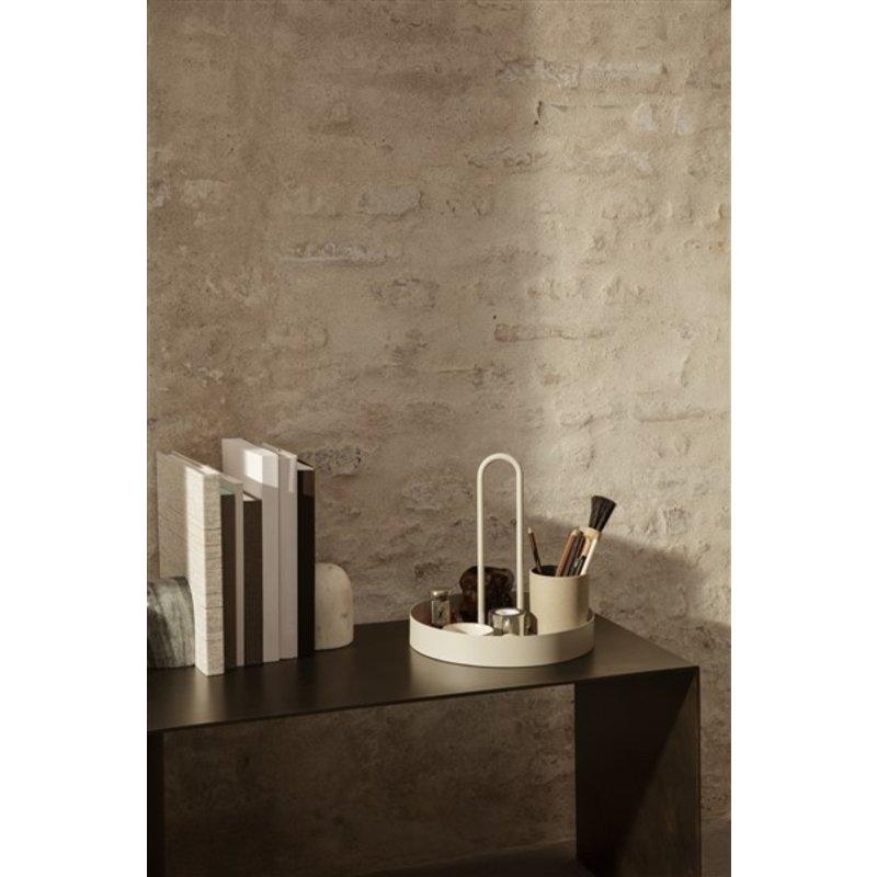 ferm LIVING-collectie Grib Tray - Light Grey