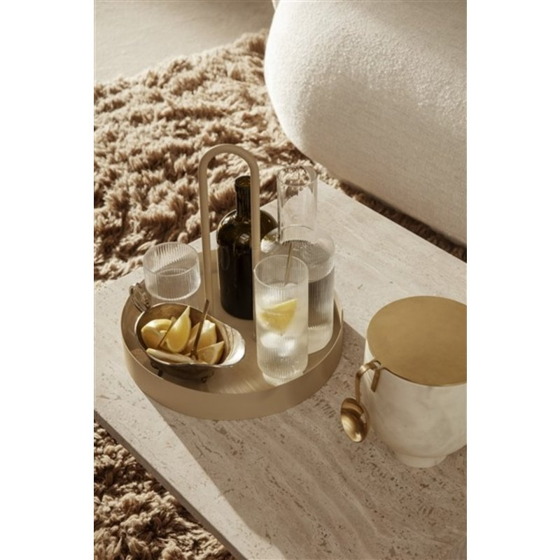 ferm LIVING-collectie Grib Tray - Cashmere