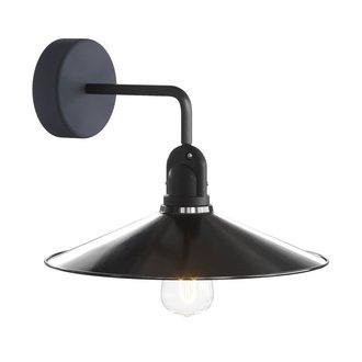 STUDIO DEENS Buiten wandlamp zwart