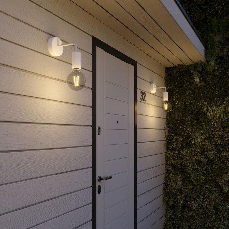 STUDIO DEENS-collectie Wandlamp wit outdoor / badkamer