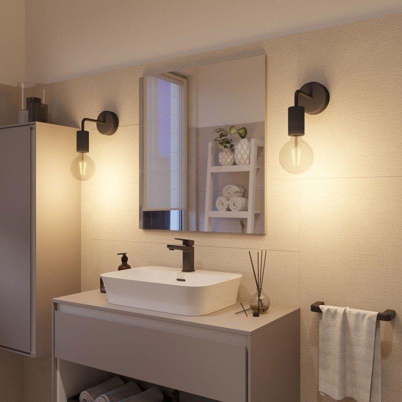 STUDIO DEENS-collectie Wandlamp zwart outdoor / badkamer -