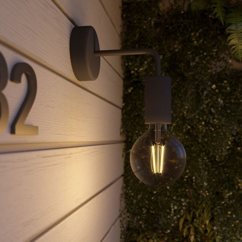 STUDIO DEENS-collectie Wall lamp carbon black outdoor / bathroom