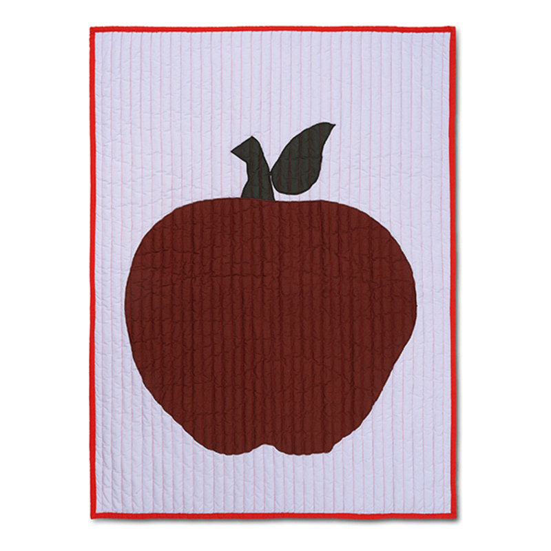 ferm LIVING-collectie Apple Quilted Blanket - Lilac