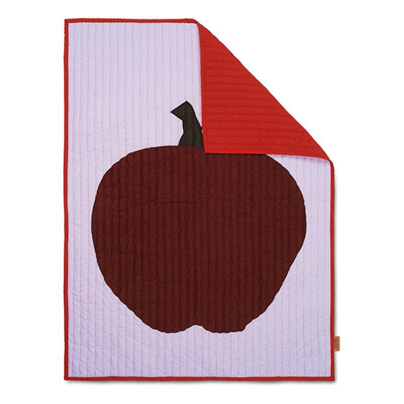 ferm LIVING-collectie Appel Quilt deken Lila