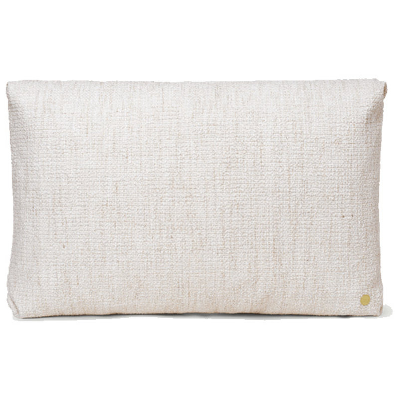 ferm LIVING-collectie Clean Cushion Rect Boucle - Off-White