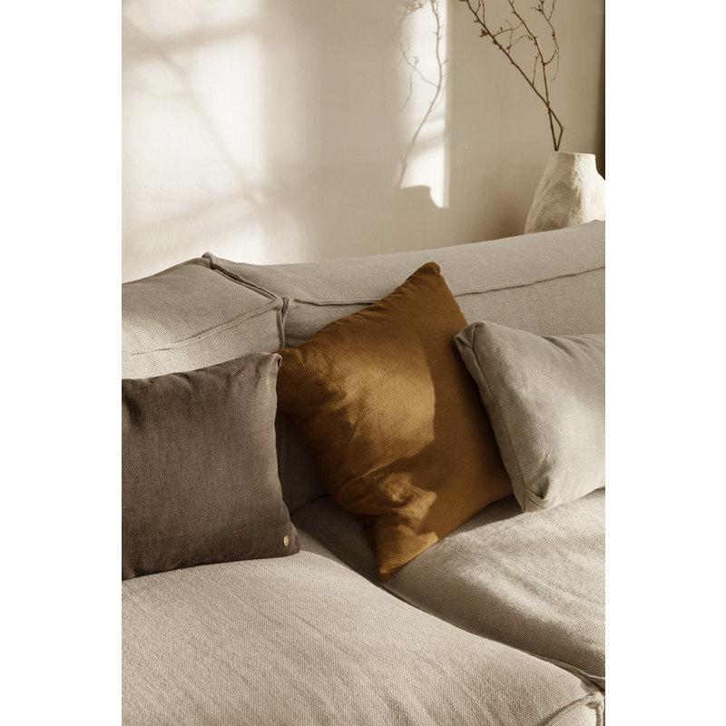 ferm LIVING-collectie Clean Cushion Rect Boucle - Sand