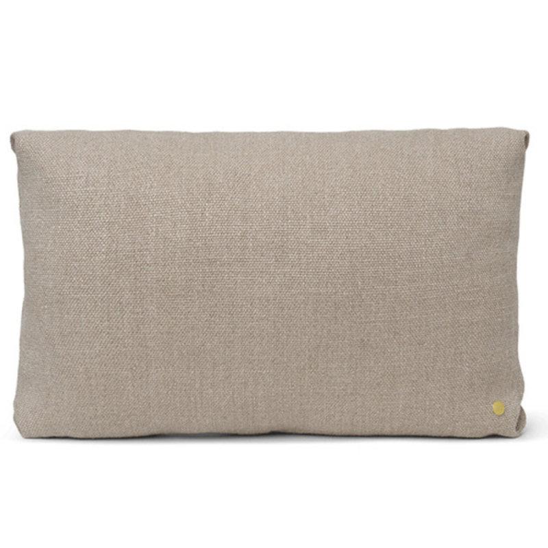 ferm LIVING-collectie Clean Cushion Rect Cotton L - Natural