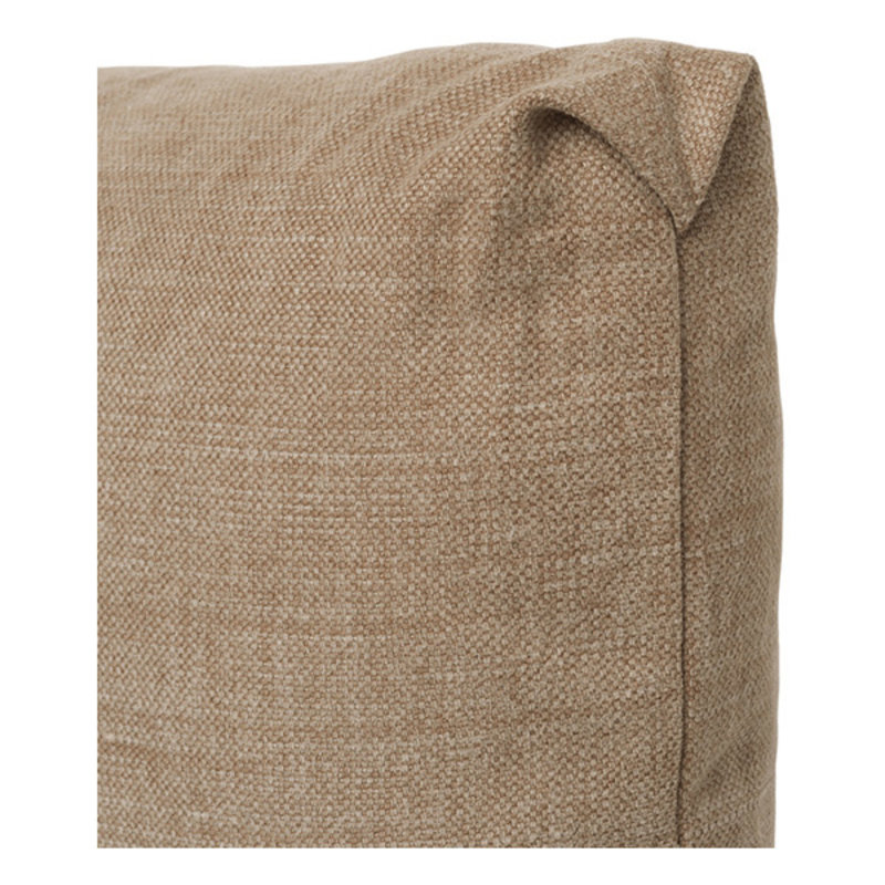ferm LIVING-collectie Clean Cushion Rect Hot M - Dusty Caramel