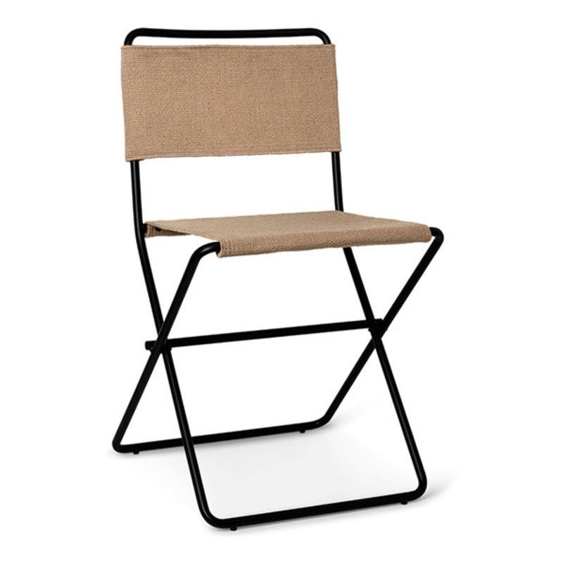 ferm LIVING-collectie Desert Dining Chair - Black/Sand