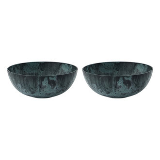 House Doctor Bowl Serveur Green Pack of 2 pcs