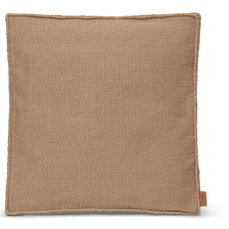 ferm LIVING-collectie Desert Square Cushion - Sand