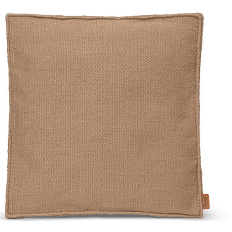 ferm LIVING-collectie Desert Square kussen zand