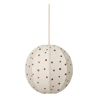 ferm LIVING Dots Embr. Textile Lampshade