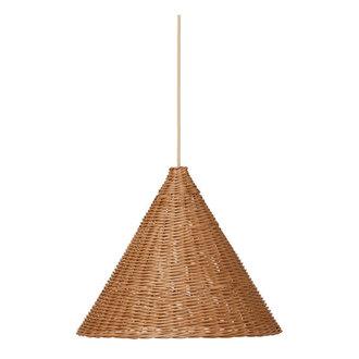 ferm LIVING Dou lampenkap - Ø45 - naturel