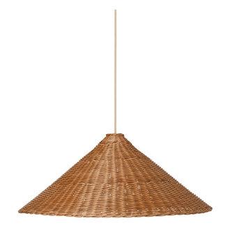ferm LIVING Dou lampenkap - Ø68 - naturel