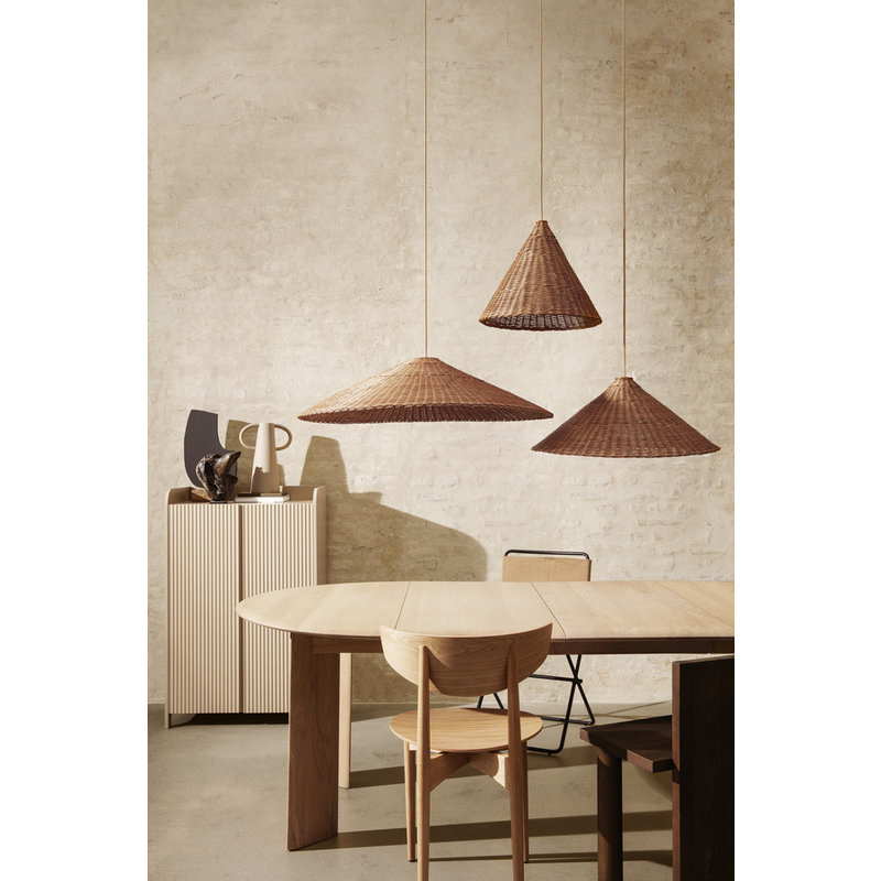 ferm LIVING-collectie Dou Lampshade - Ø68 - Natural