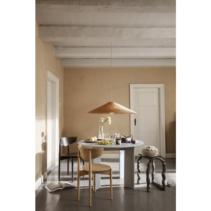 ferm LIVING-collectie Dou Lampshade - Ø90 - Natural