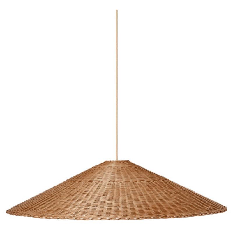 ferm LIVING-collectie Dou lampenkap - Ø90 - naturel