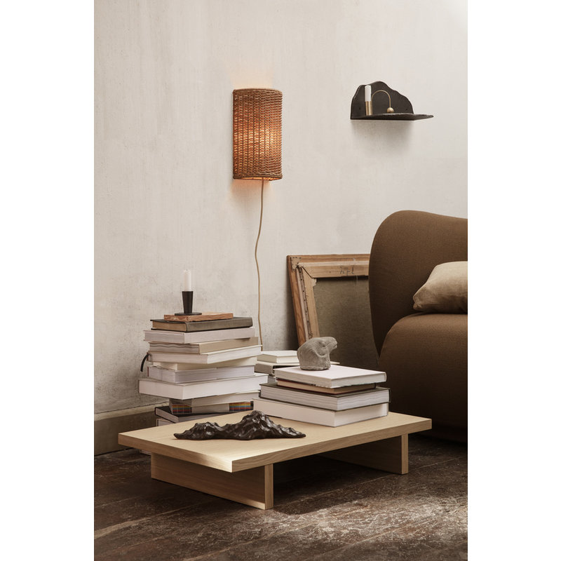 ferm LIVING-collectie Dou Wall Lampshade - Natural