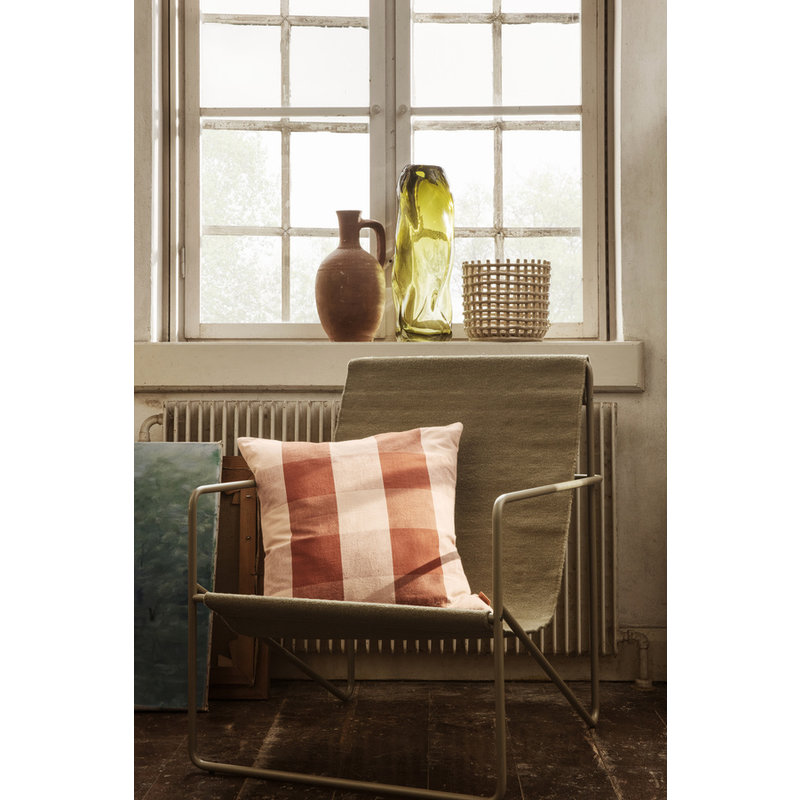 ferm LIVING-collectie Kussen Grand Rose/Rust