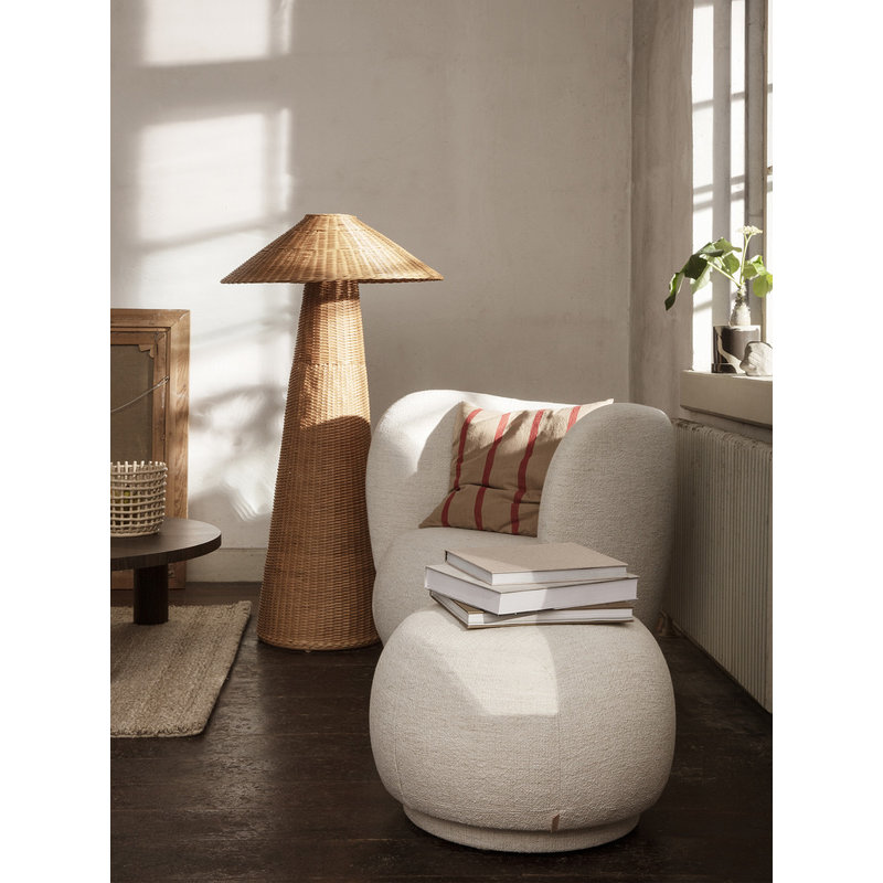 ferm LIVING-collectie Grand Cushion - Camel/Red