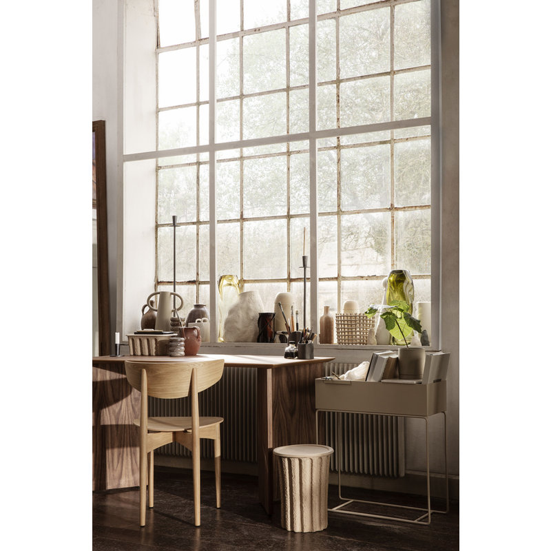 ferm LIVING-collectie Herman Dining Chair Wood - Natural Oak
