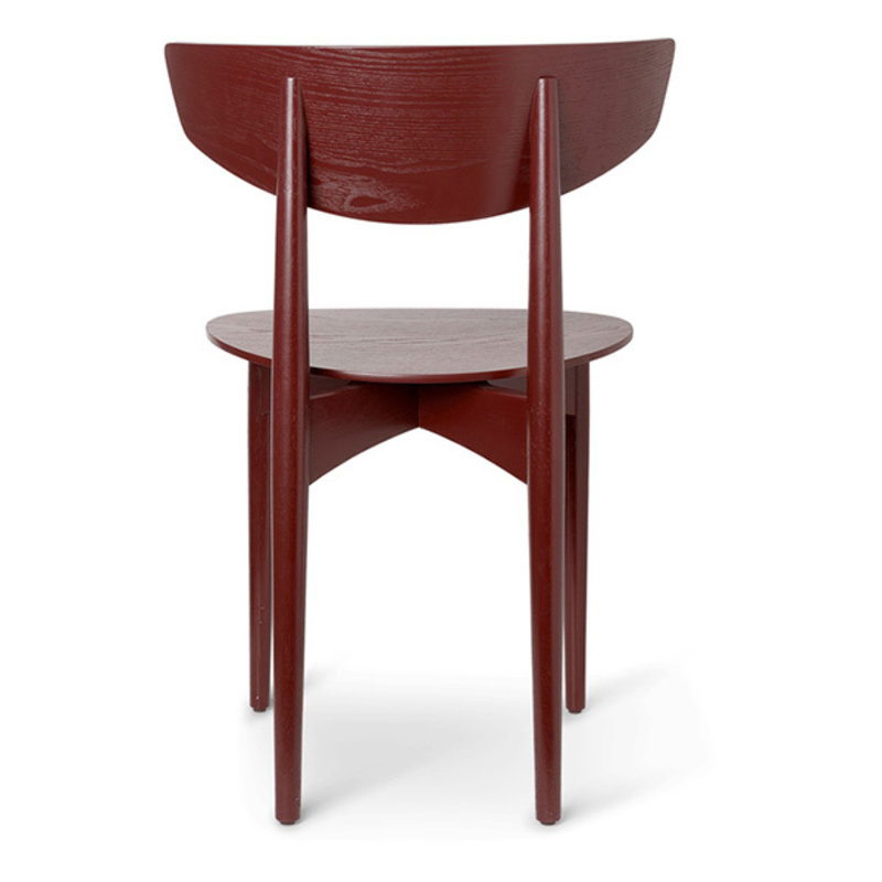 ferm LIVING-collectie Herman Dining Chair Wood - Red Brown