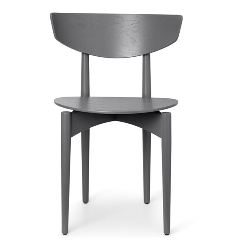 ferm LIVING-collectie Herman Dining Chair Wood - Warm Grey