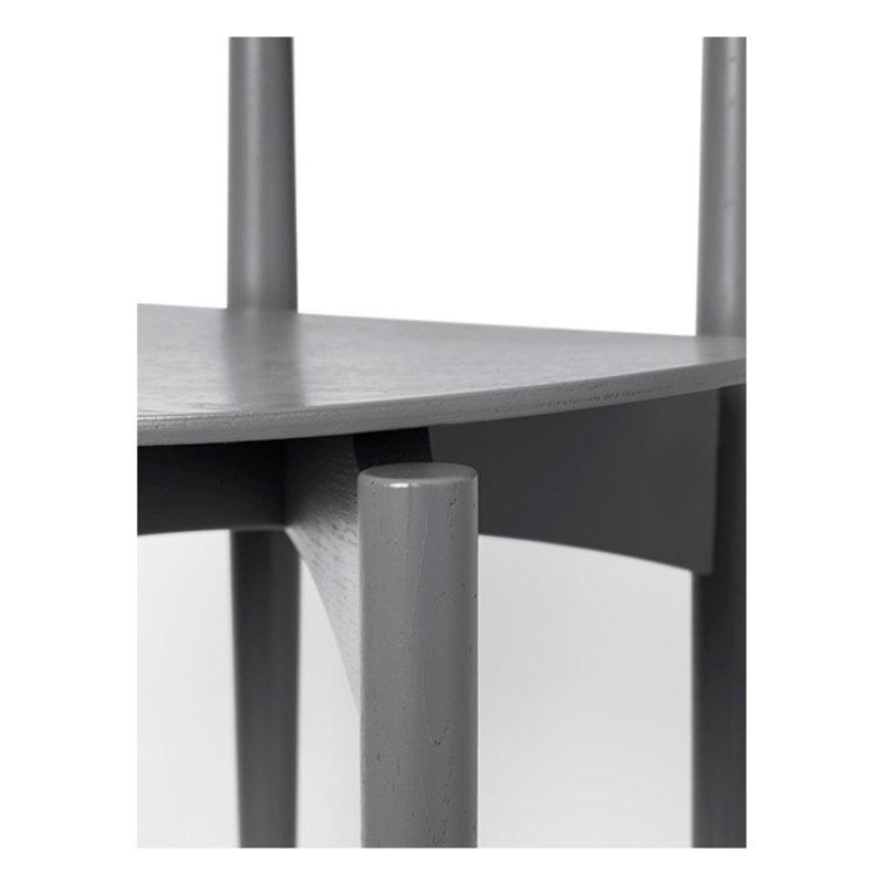 ferm LIVING-collectie Eetkamerstoel Herman Dining hout warm grijs
