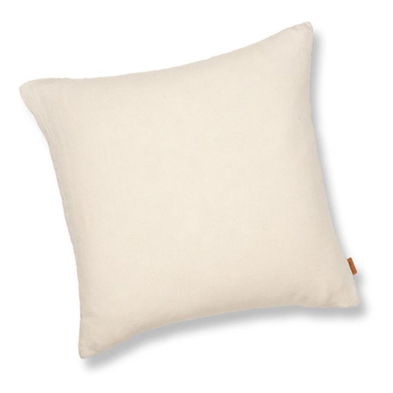 ferm LIVING-collectie Linen Cushion - Natural