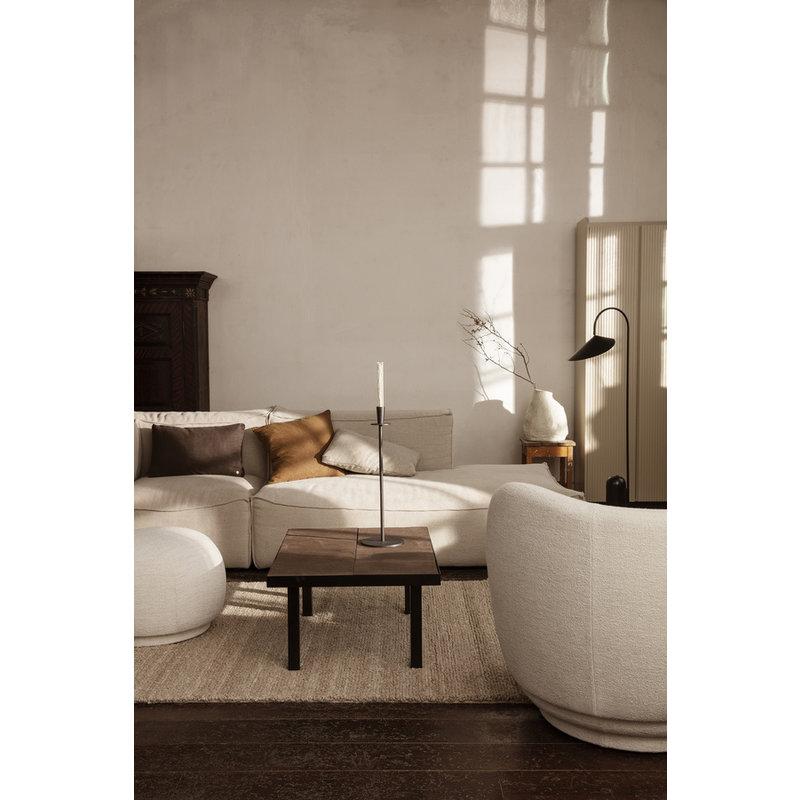 ferm LIVING-collectie Linen Cushion - Sugar Kelp