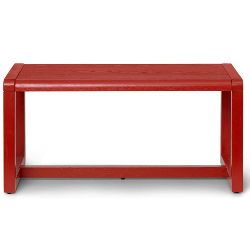 ferm LIVING-collectie Kinderbank Little Architect - Poppy Red