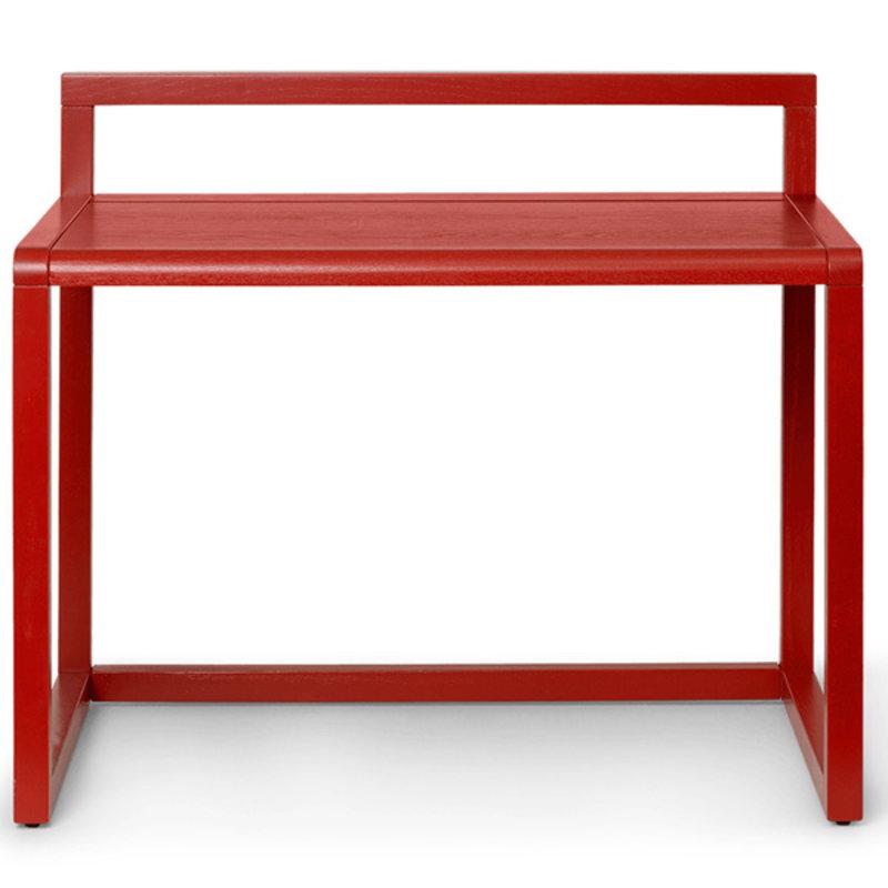 ferm LIVING-collectie Kinderbureau Little Architect - Poppy Red