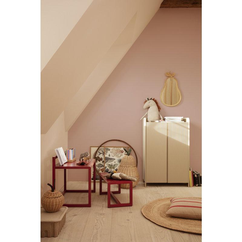 ferm LIVING-collectie Little Architect Desk - Poppy Red