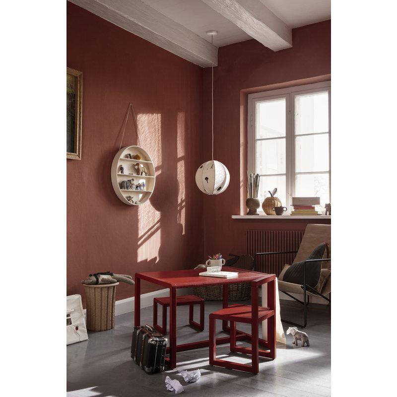 ferm LIVING-collectie Kinderkruk Little Architect - Poppy Red