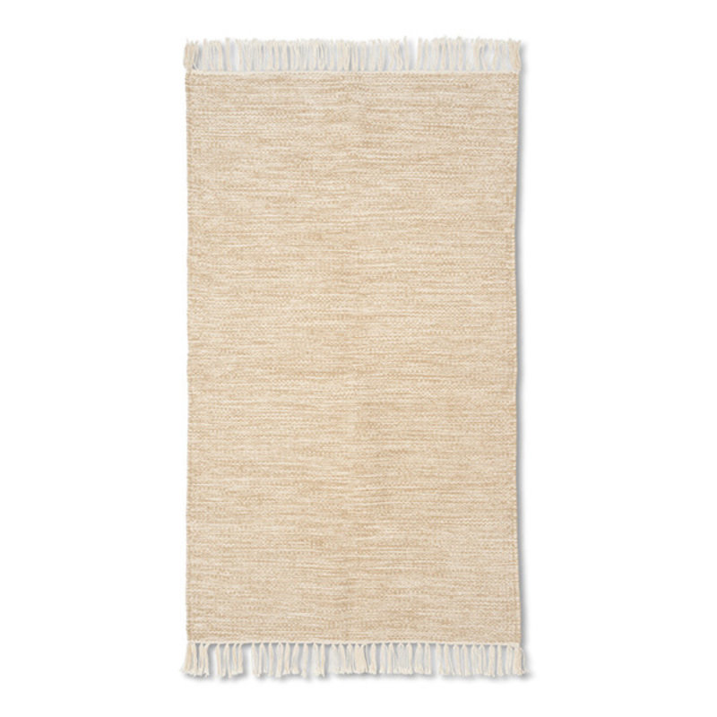 ferm LIVING-collectie Vloerkleed Melange zand 60x100