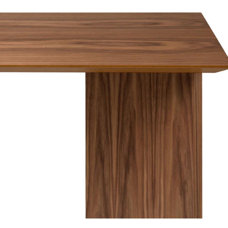 ferm LIVING-collectie Mingle Table Top 210 cm - Walnut Ven