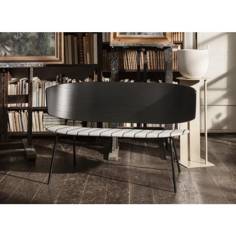 ferm LIVING-collectie Herman 2-Seater - Black