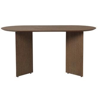 ferm LIVING Mingle Table Top Oval 220 cm - Walnut Ve