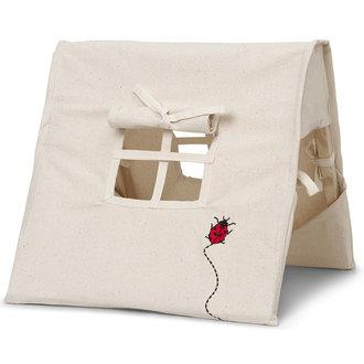 ferm LIVING Mini Tent - Ladybird Embr. - Natural
